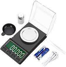AIMTOP Báscula Precision 0.001g × 50g, Báscula Cocina Digital con Cable  USB, Báscula Miligramos Báscula de Joyería, Peso de Cocina Digital con  Pantalla LCD y 8 Unidades, Función de Tara : Amazon.es: